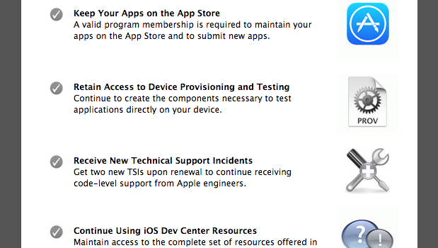 Renew your iOS Developer Program membership