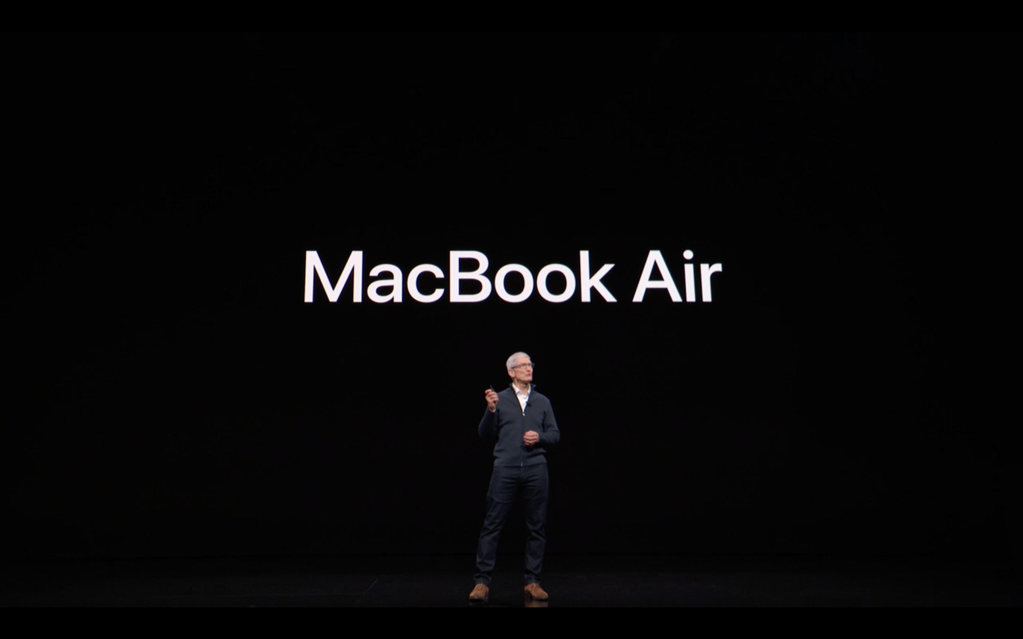 Apple Special Event - MacBook Air
