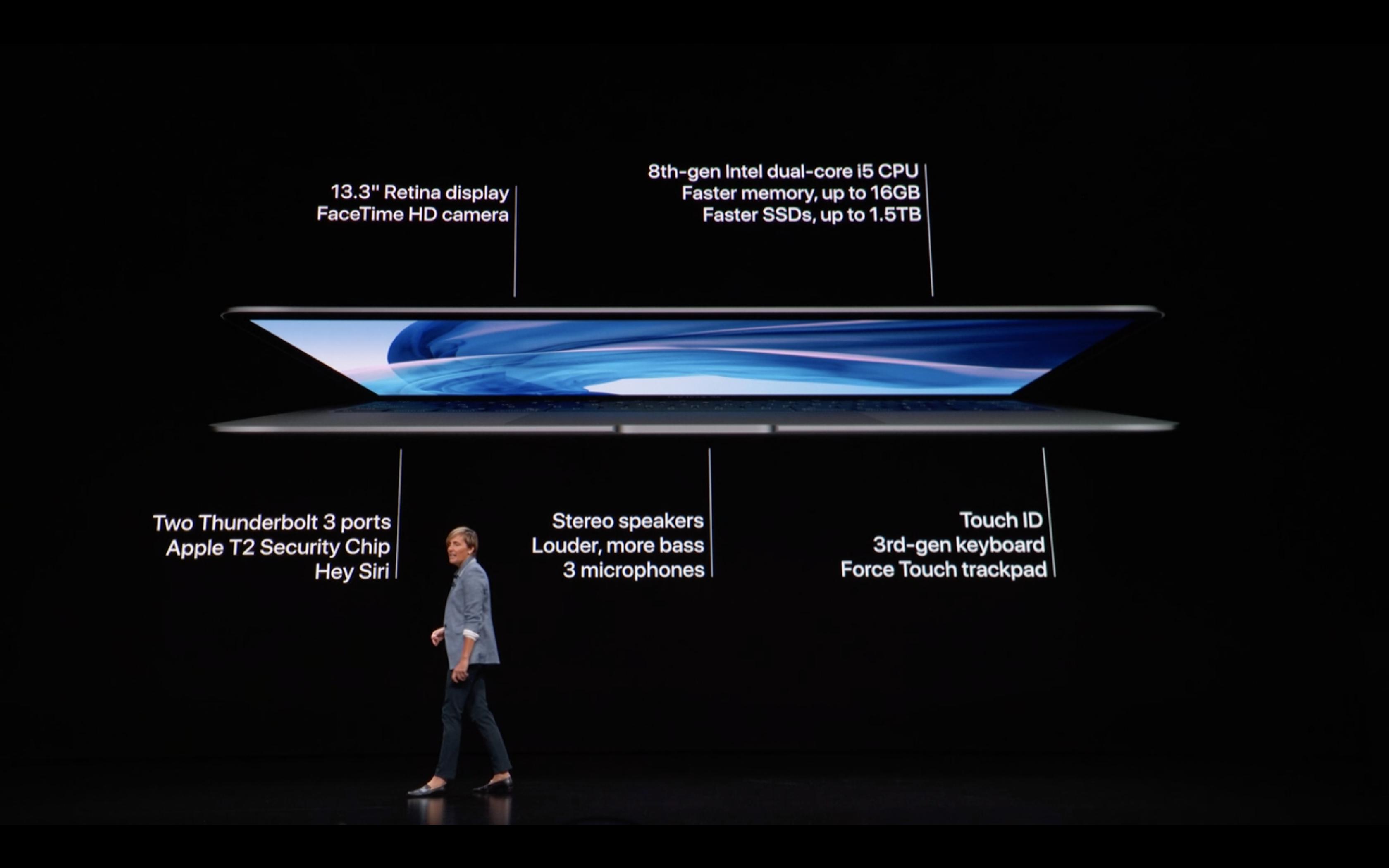 Apple Special Event - MacBook Air - Spec