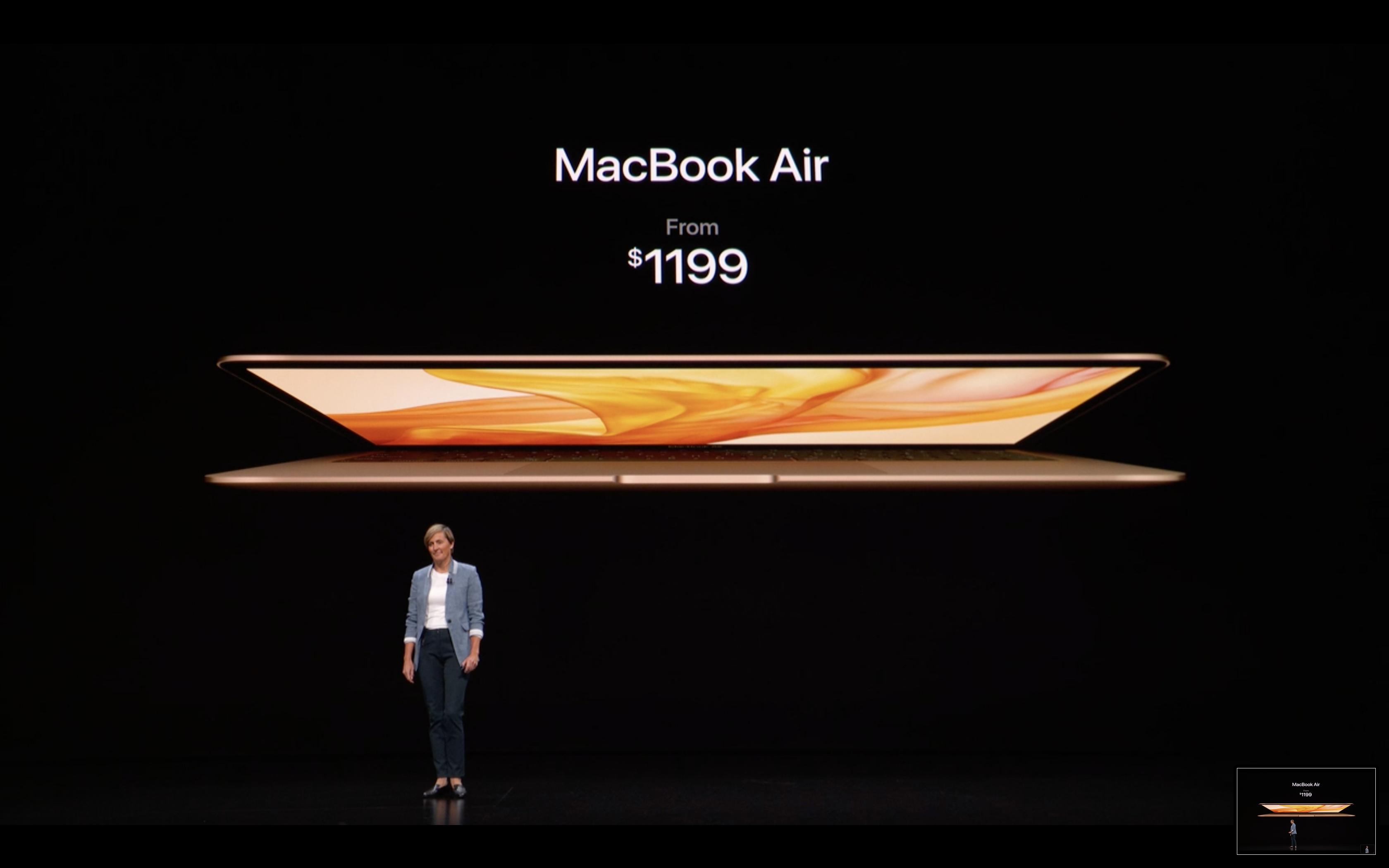 Apple Special Event - MacBook Air - Price