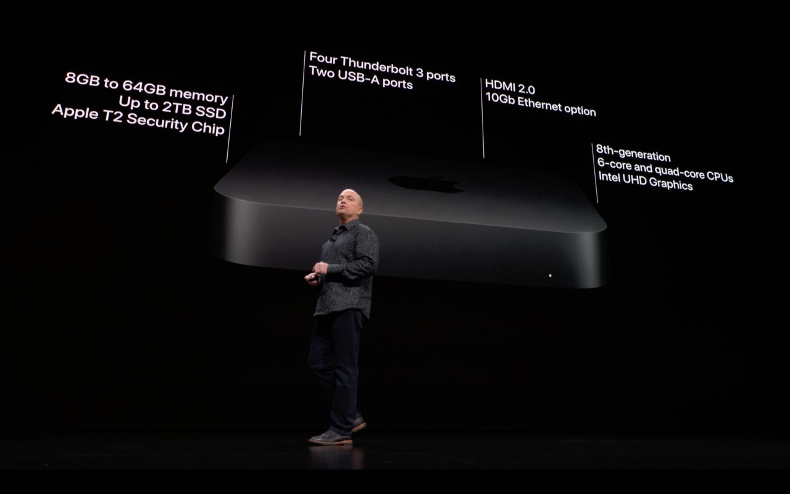 Apple Special Event - Mac Mini - Spec