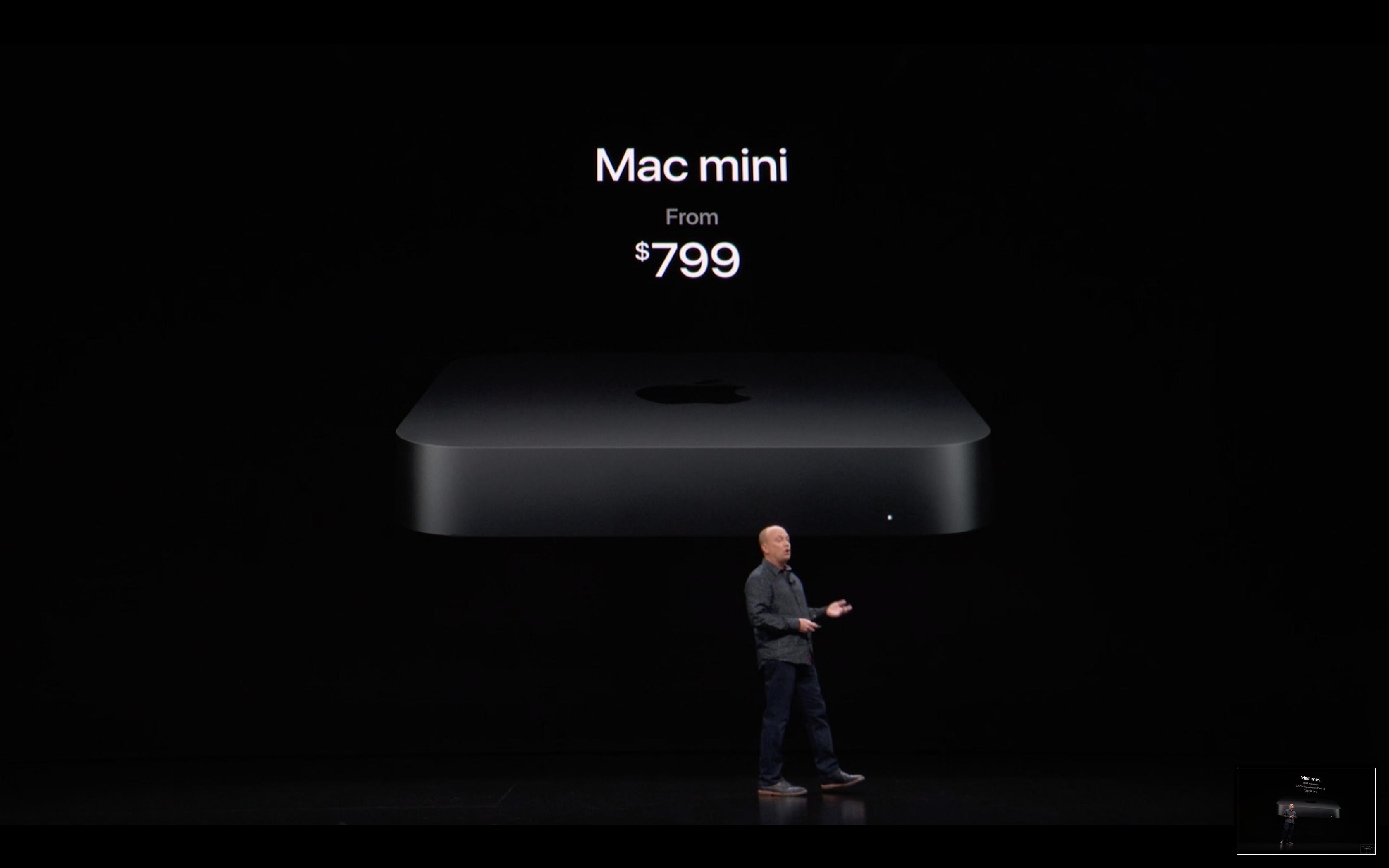Apple Special Event - Mac Mini - Price