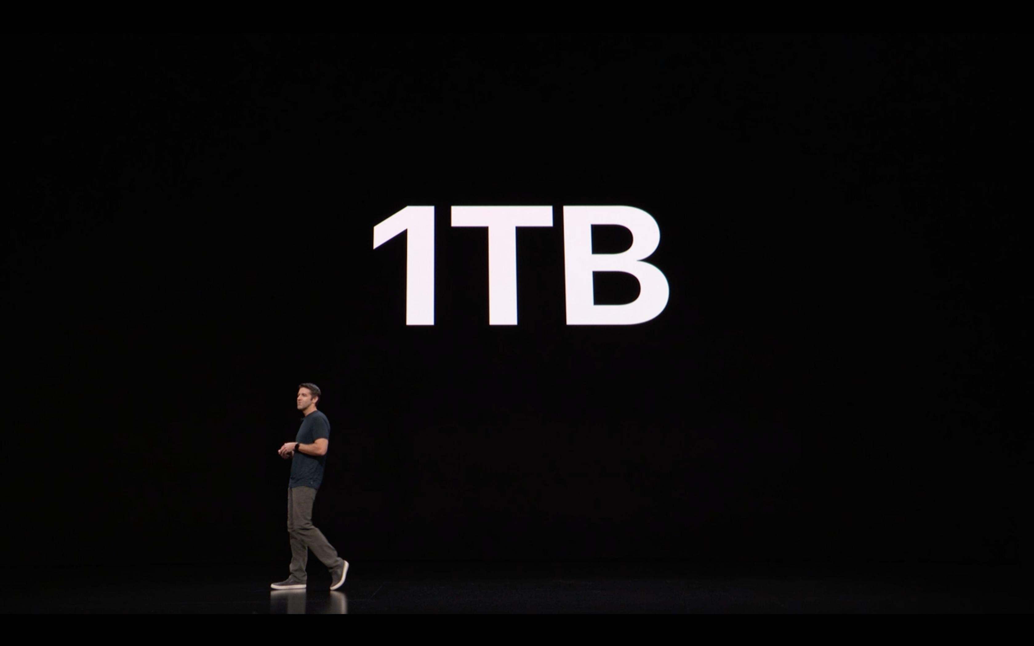 Apple Special Event - iPad - Storage